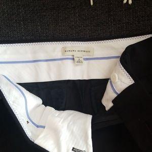 Black ankle dress pants, stretchy